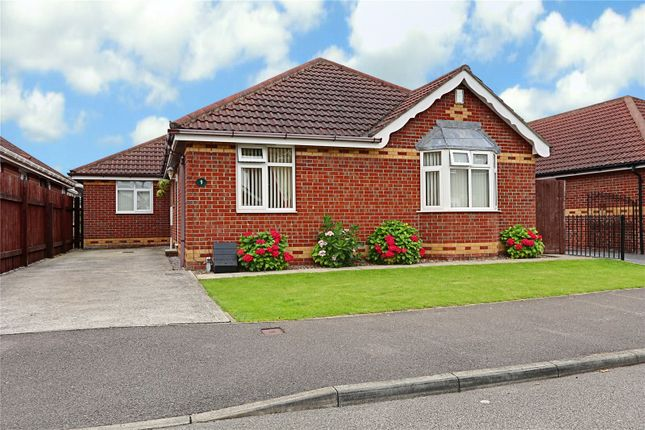 Thumbnail Bungalow for sale in Meadow Drive, Burstwick, East Yorkshire