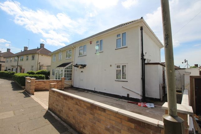 Thumbnail Semi-detached house for sale in Blundell Road, Leicester