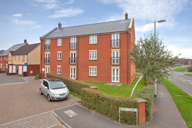 Thumbnail Flat to rent in Barle Court, Tiverton