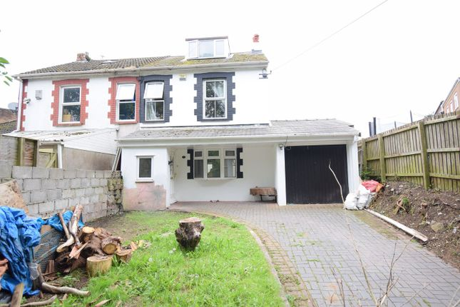 Thumbnail Semi-detached house for sale in St Dials Road, Cwmbran