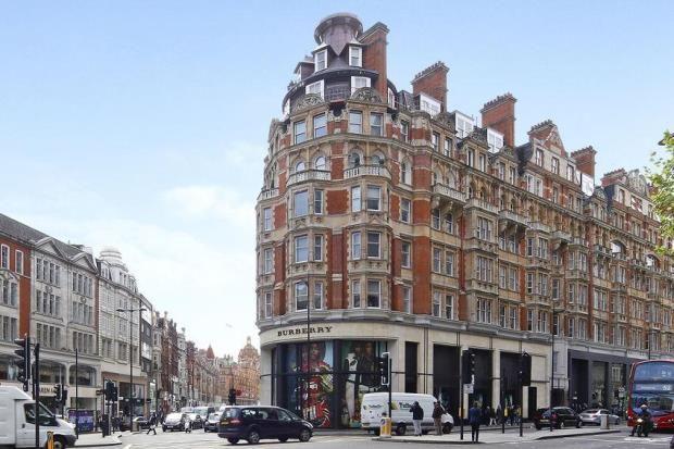 Exterior of Park Mansions, 141 Knightsbridge, London SW1X