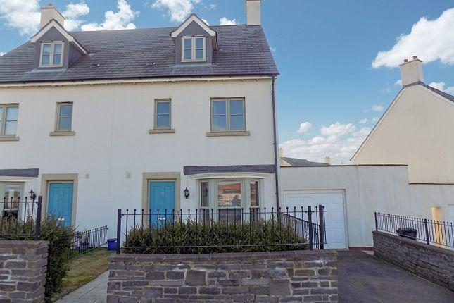 Thumbnail Semi-detached house for sale in Heathland Way, Llandarcy, Neath, Neath Port Talbot.