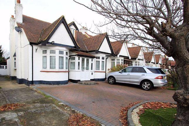 Thumbnail Semi-detached bungalow for sale in Levett Gardens, Seven Kings, Essex