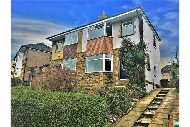 Thumbnail Semi-detached house for sale in Leafield Avenue, Bradford