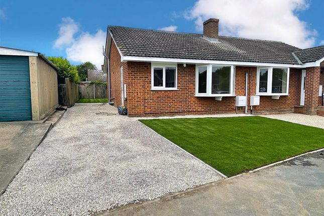 2 bed semi-detached bungalow for sale in Hambleton View, Tollerton, York YO61