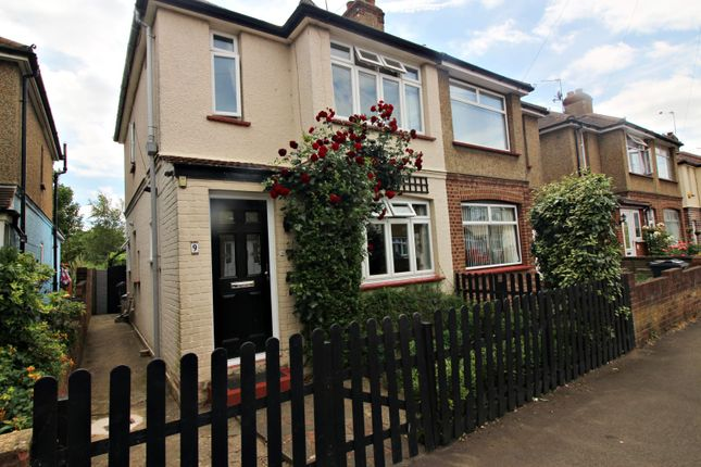 Thumbnail Semi-detached house for sale in Craigwell Avenue, Feltham