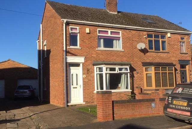 Thumbnail Semi-detached house for sale in Dewsbury Avenue, Scunthorpe