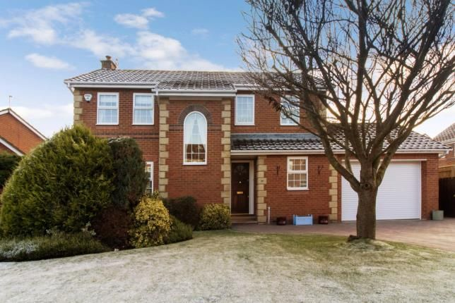 Thumbnail Detached house for sale in Carr Field, Ponteland, Newcastle, Northumberland