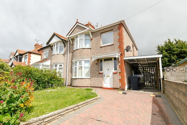 3 bed semi-detached house for sale in Weaver Avenue, Rhyl LL18