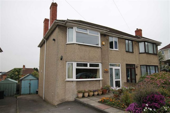 Thumbnail Semi-detached house for sale in Wyedale Avenue, Coombe Dingle, Bristol