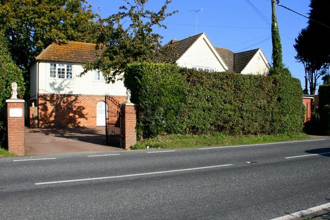 Thumbnail Detached house for sale in Harwich Road, Little Clacton, Clacton On Sea