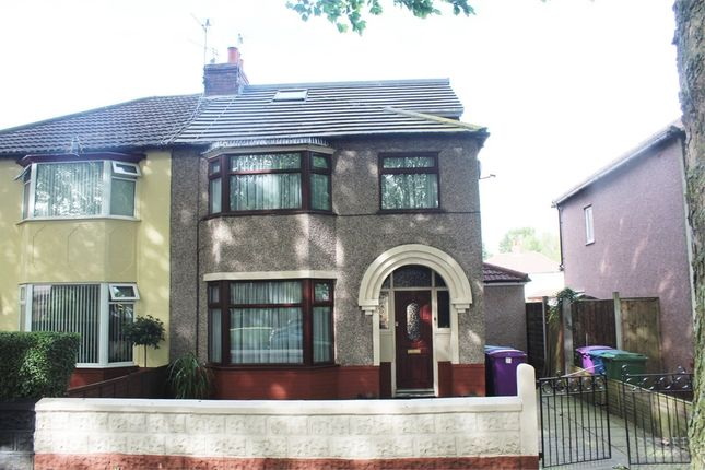 Thumbnail Semi-detached house for sale in Brodie Avenue, Liverpool, Merseyside
