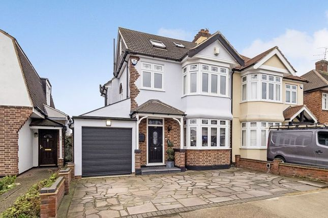 Semi-detached house for sale in Dee Way, Rise Park, Romford