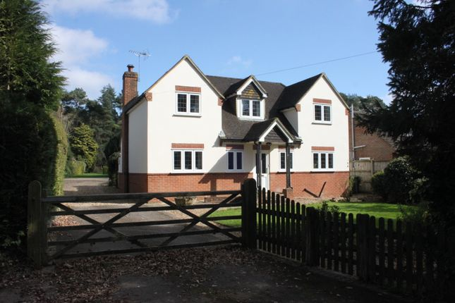 Thumbnail Detached house for sale in Old Odiham Road, Alton