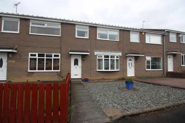 Thumbnail Terraced house for sale in Totnes Drive, Parkside Grange, Cramlington