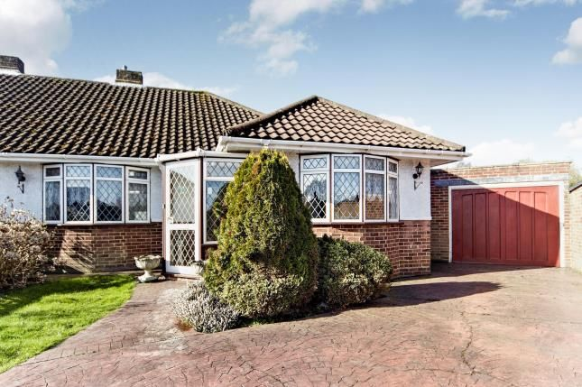 Thumbnail Bungalow for sale in Inwood Close, Shirley, Croydon, Surrey