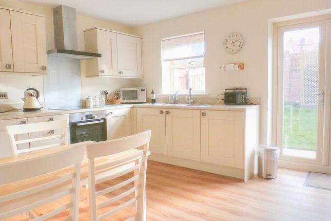 Thumbnail End terrace house to rent in Sea View, Longframlington, Morpeth, Northumberland