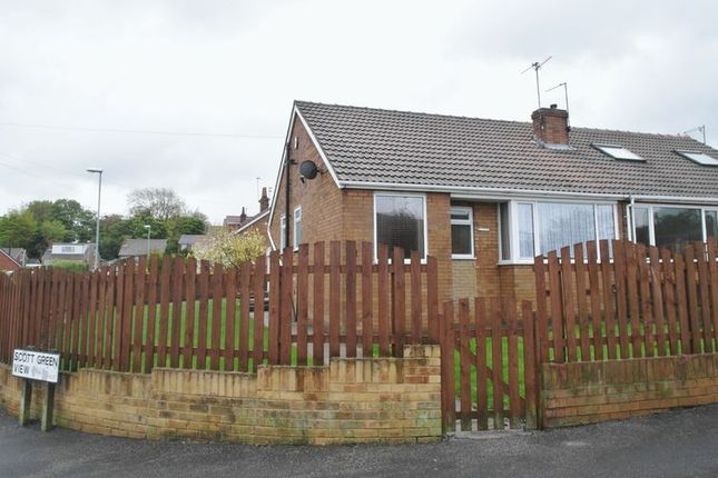 Thumbnail Semi-detached bungalow to rent in Scott Green Drive, Gildersome, Leeds