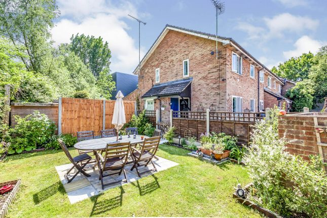 Thumbnail End terrace house for sale in Meadowbrook Close, Slough