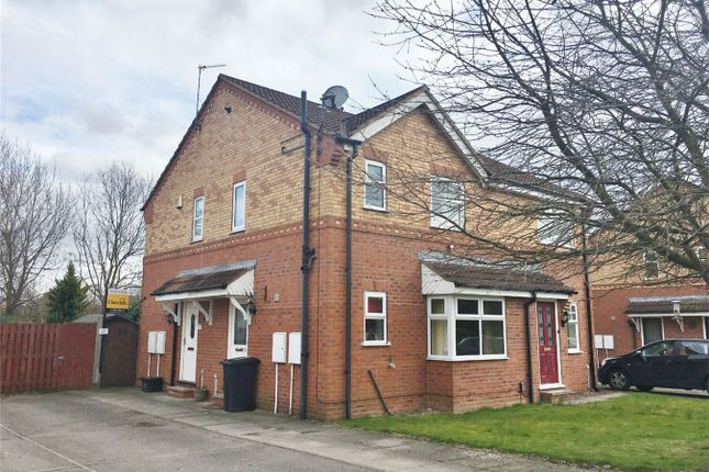Thumbnail Semi-detached house for sale in St James Close, Rawcliffe, York