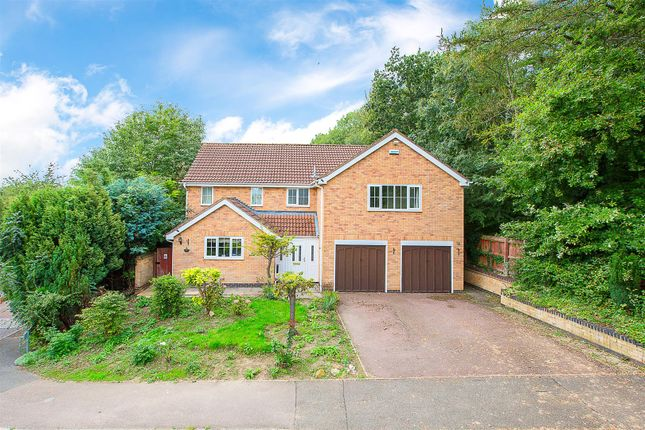 Thumbnail Detached house for sale in Forest Glade, Kettering