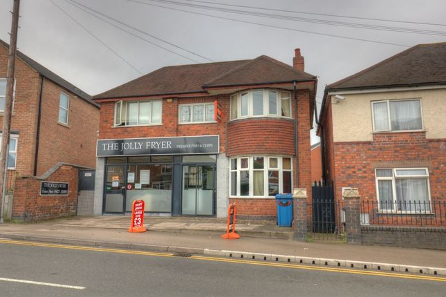 Thumbnail Retail premises for sale in 318 Glascote Road, Glascote, Tamworth, Staffordshire