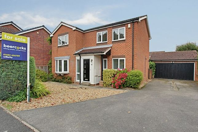 Thumbnail Detached house for sale in Laxton Garth, Kirk Ella, Hull