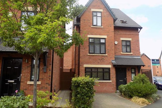 Thumbnail Detached house to rent in The Moorings, Worsley