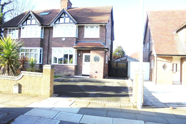 Thumbnail Semi-detached house for sale in Heath Road, Bebington