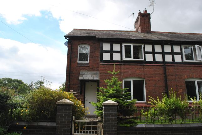 Thumbnail Semi-detached house to rent in Oldcastle, Malpas, Cheshire