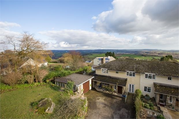 Thumbnail Semi-detached house for sale in Five Lanes, Hennock, Devon.