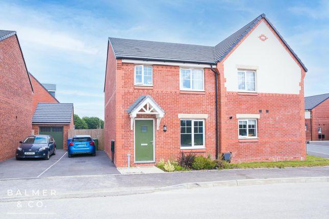 3 bed semi-detached house to rent in Farm Croft Drive, Golborne, Warrington WA3