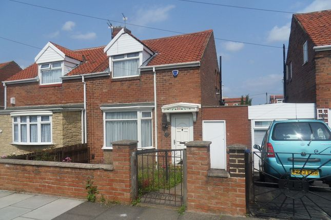 Thumbnail Semi-detached house for sale in Scrogg Road, Walker, Newcastle Upon Tyne