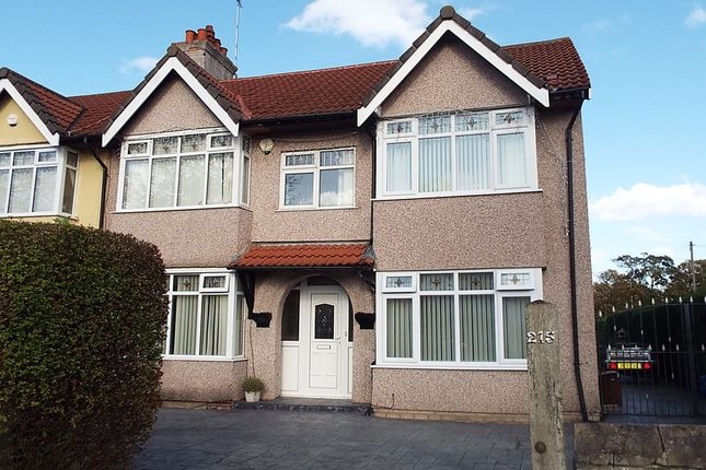 Thumbnail Semi-detached house for sale in Raeburn Avenue, Eastham, Wirral