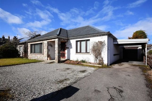Thumbnail Detached bungalow for sale in Woodside Avenue, Grantown-On-Spey