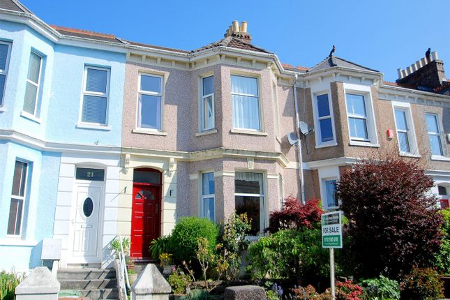 Thumbnail Terraced house for sale in Wesley Avenue, Plymouth
