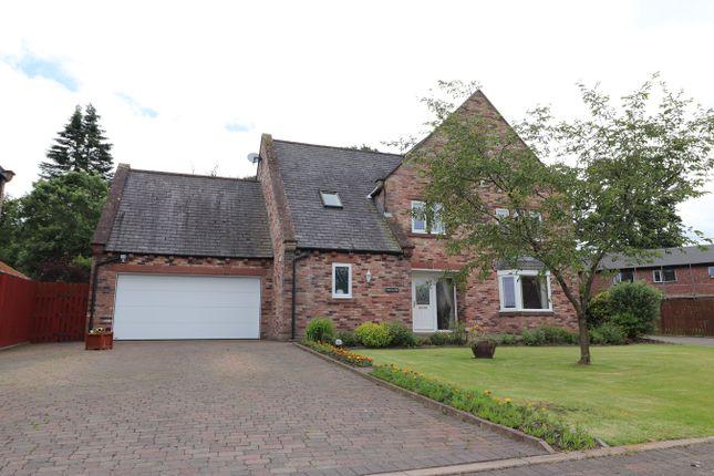 Thumbnail Detached house for sale in Brunstock Mews, Brunstock, Carlisle