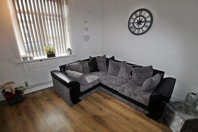 Lounge of Penrhys Road, Tylorstown, Ferndale, Rhondda, Cynon, Taff. CF43