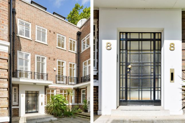 Thumbnail Terraced house for sale in Gloucester Square, Hyde Park, London