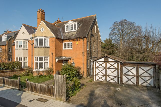 Thumbnail Semi-detached house for sale in Courthope Road, Wimbledon Village