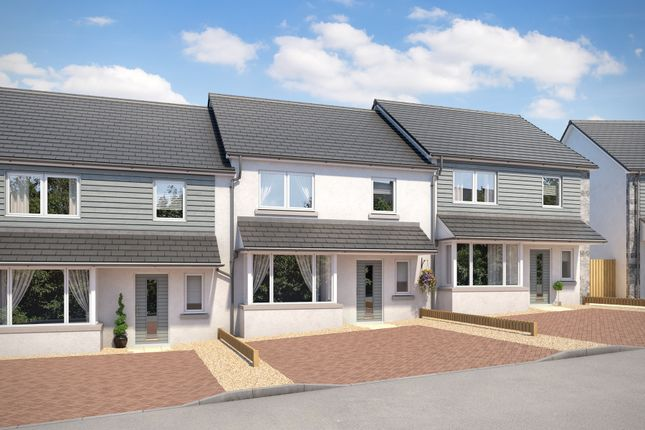Thumbnail Terraced house for sale in Gleneagles Court, Inverurie