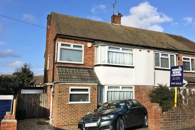 Thumbnail Semi-detached house for sale in Iden Road, Frindsbury, Kent