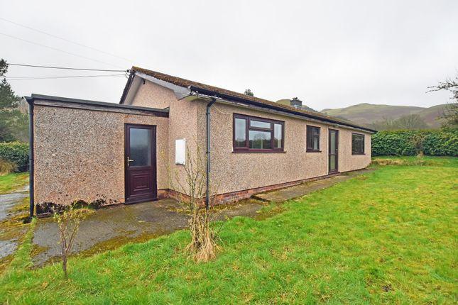 Thumbnail Detached bungalow to rent in Llandegley, Llandrindod Wells