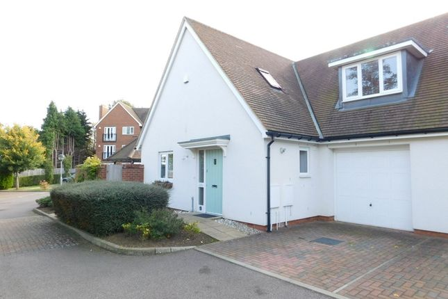 Thumbnail Semi-detached house for sale in Pix Brook Court, Norton Way North, Letchworth, Herts