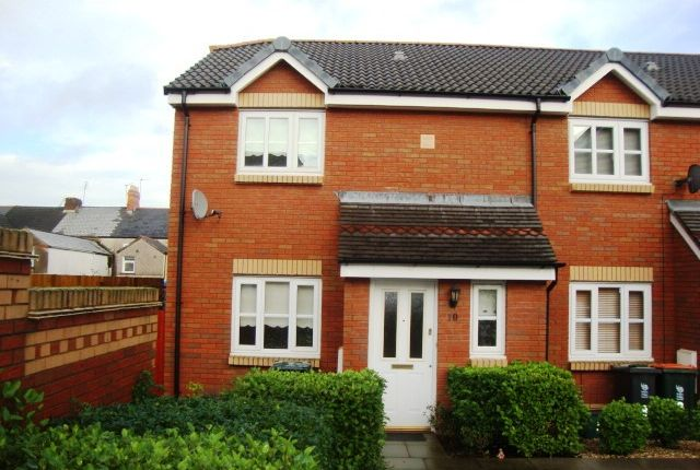 Thumbnail 3 bed end terrace house for sale in Amelia Close, Newport