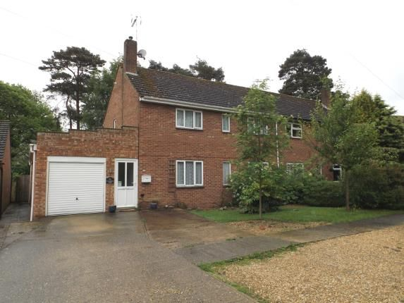 Thumbnail Semi-detached house for sale in Watton, Thetford, Norfolk
