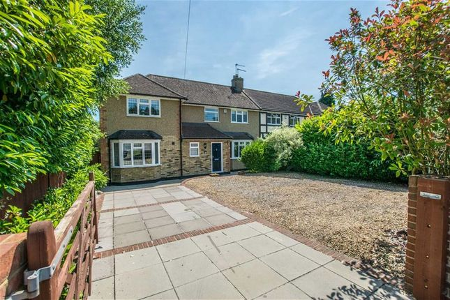 Thumbnail Semi-detached house for sale in Ware Road, Hailey, Hertfordshire