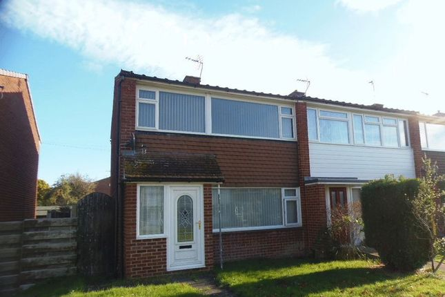 Thumbnail End terrace house for sale in Silver Close, Tuffley, Gloucester