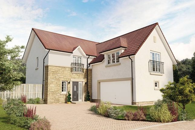 "Thumbnail Detached house for sale in ""The Dewar"" at Eaglesham Road, East Kilbride, Glasgow"