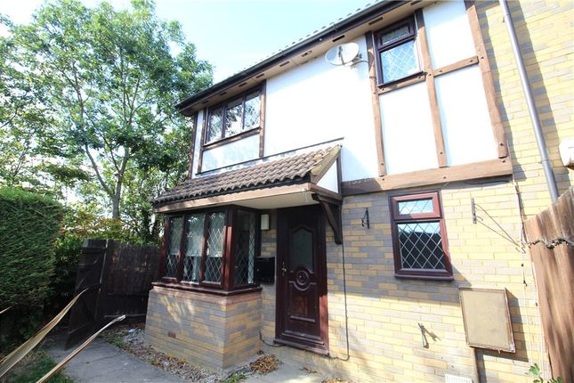 Thumbnail End terrace house for sale in Astral Close, Lower Stondon, Henlow